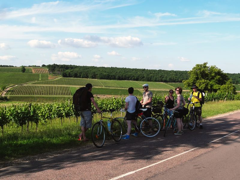 Route des vins - week-end amis