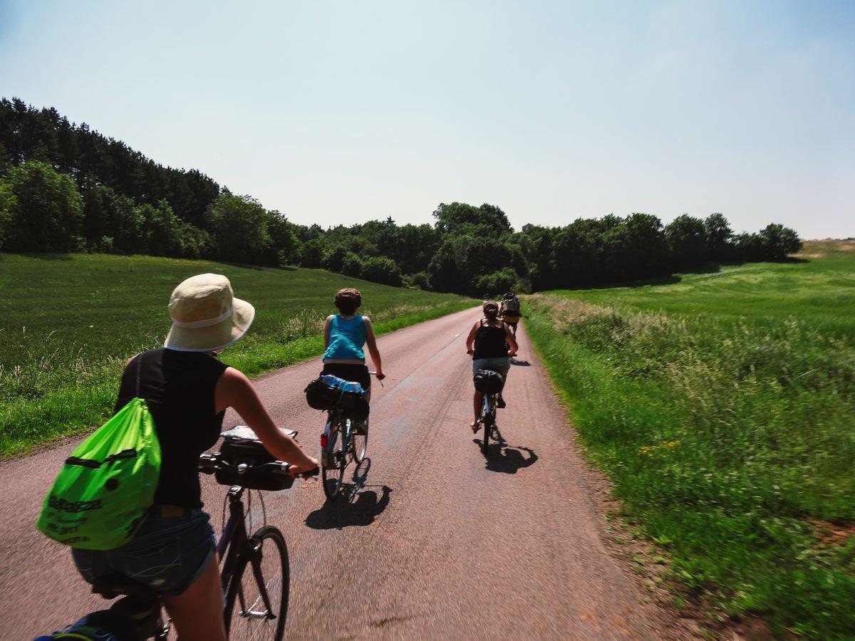 Week-end à vélo entre amis