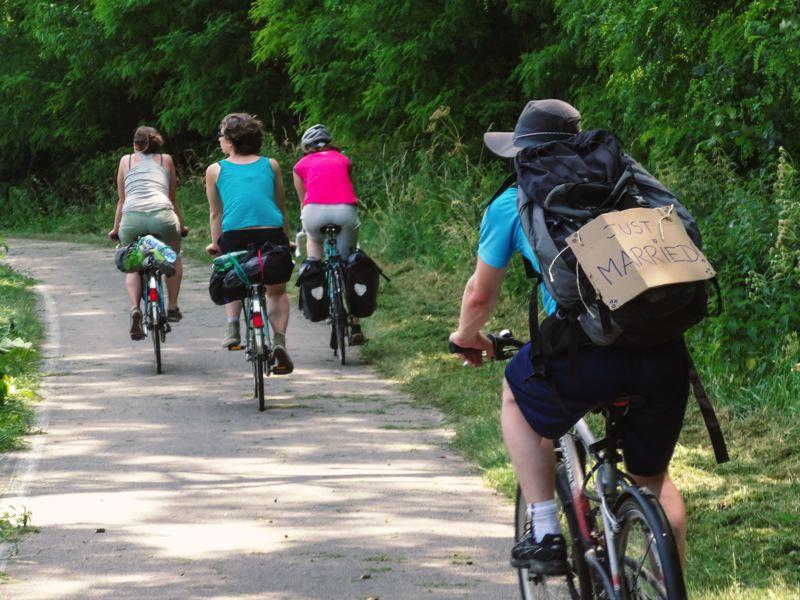 Week-end à vélo entre amis - Charlotte