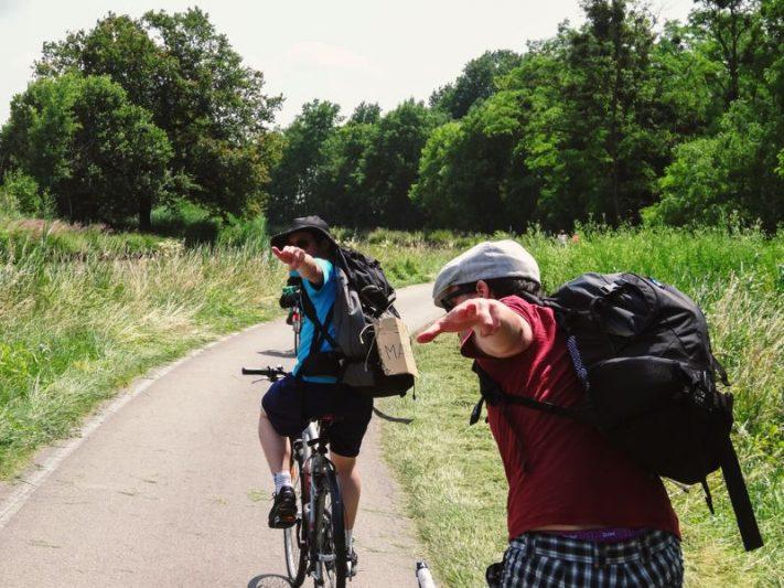 Convaincre ses amis - vélo