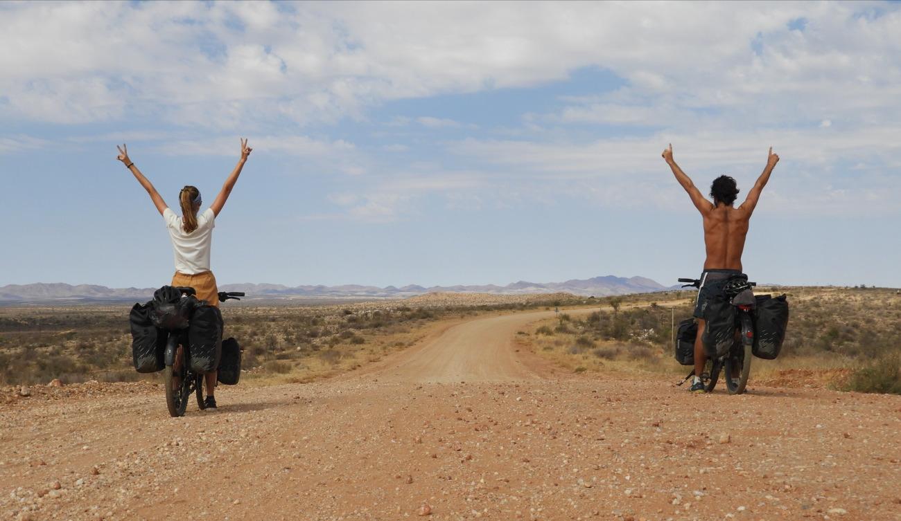 Interview la Route de la Joie : leur traversée à vélo du Botswana et de la Namibie