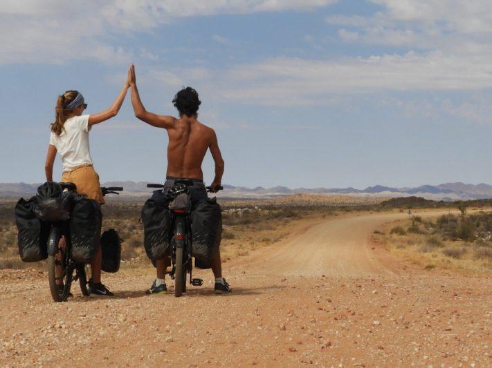 Laura & JB, la route de la Joie, Botswana