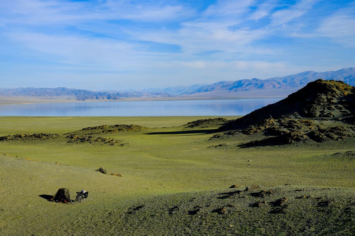 Bivouac Mongolie © Terra Wairua - Laura Tastayre