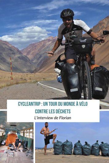 CycleanTrip - Un tour du monde à vélo contre les déchets