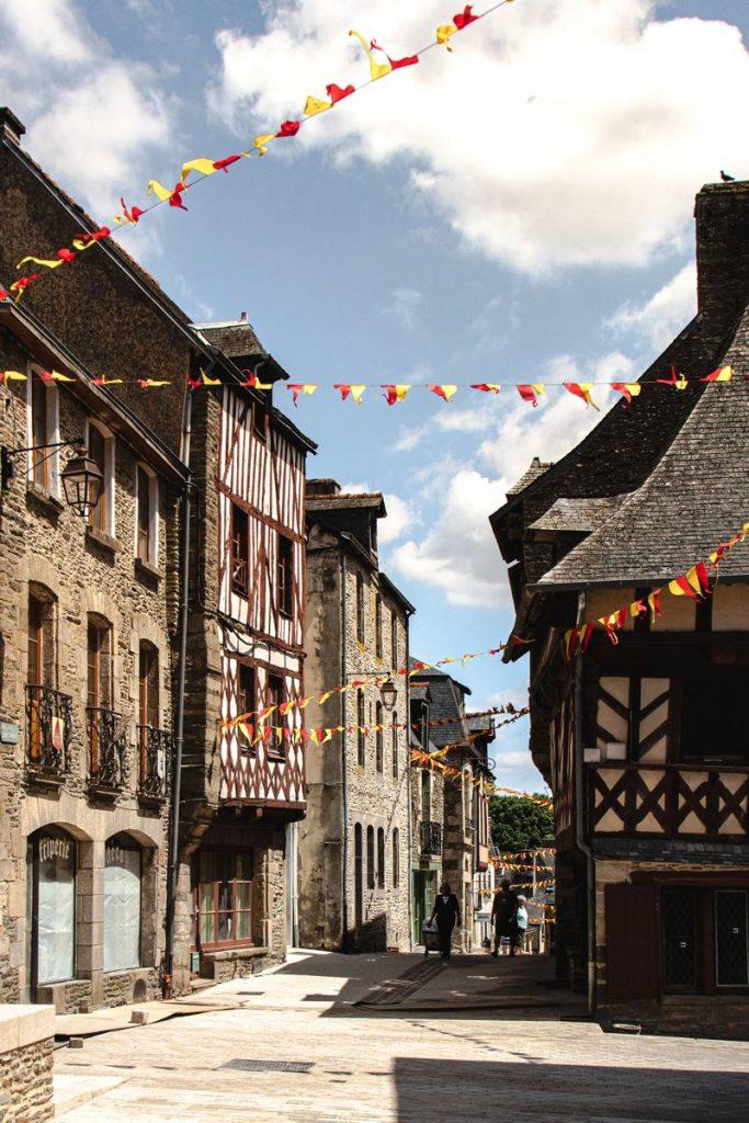centre historique, Josselin