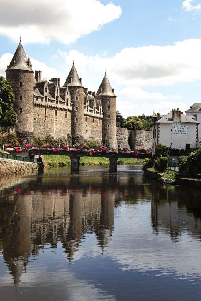 Josselin - Chateau - canal de Nantes à brestæ