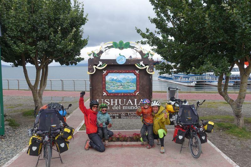 arrivée à Ushuaia © Roulez doudous