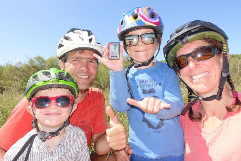 Voyage à vélo en famille © Roulez doudous