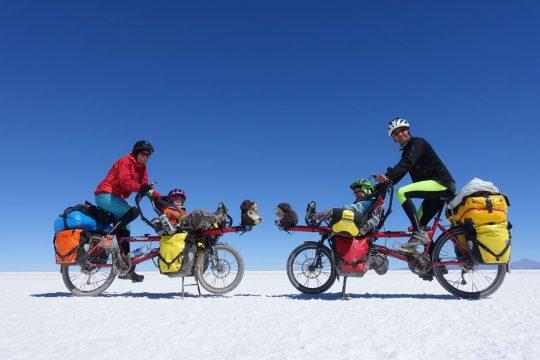 Salar d'Uyuni à vélo -Bolivie- © Roulez doudous