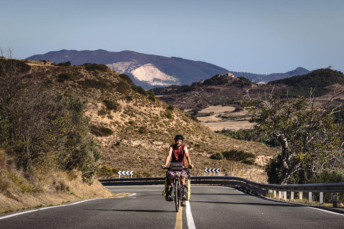 La région de Navarre à vélo