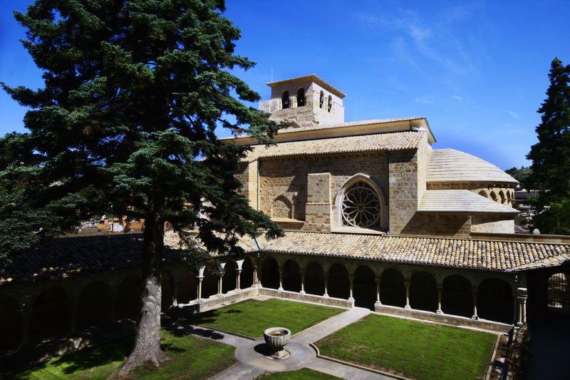 Eglise Pedro de la rue - Navarre à vélo