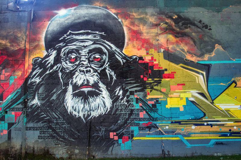 oeuvre street art redon