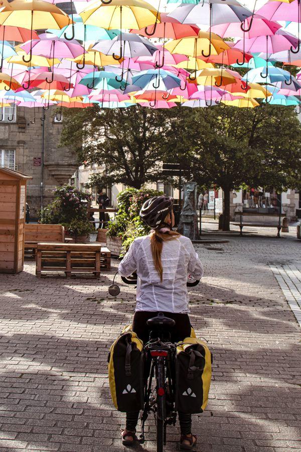 Parapluies à Pontivy
