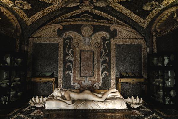 Grottes du palazzo Borromeo - Isola Bella