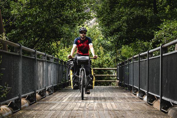 Piste cyclable - lac Majeur