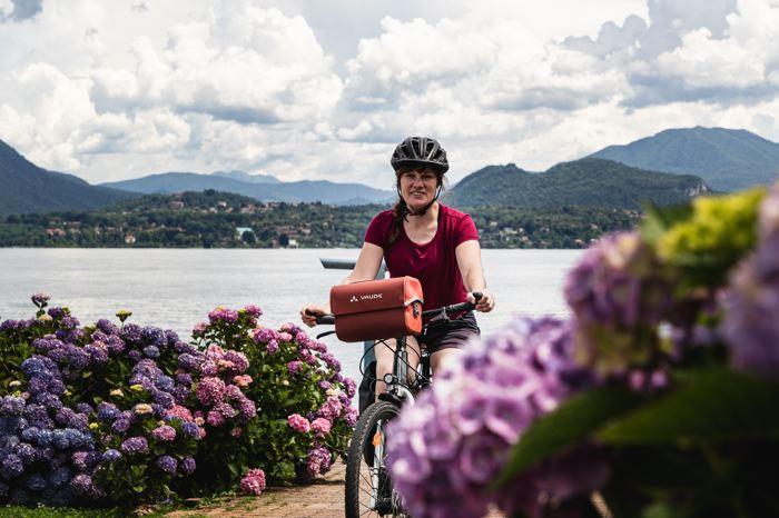 Vélo - sacoches - lac Majeur