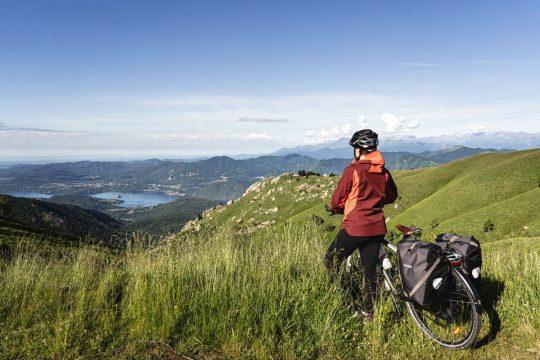 Le lac d'Orta à vélo