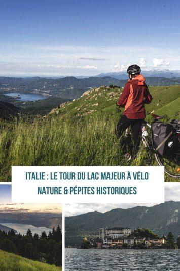 4 jours à vélo autour du lac Majeur #microaventure #voyageavelo