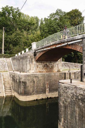 Pont à Lechatelet - la Voie Bleue