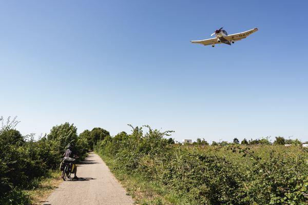 Aéroport avant Alençon