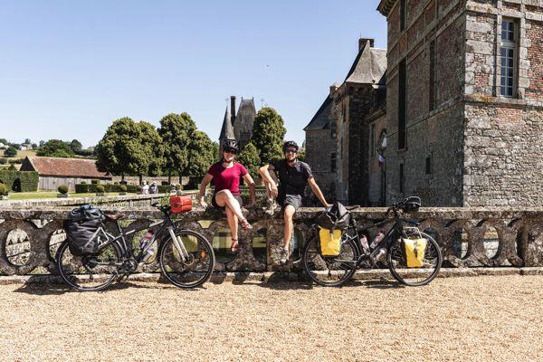 Chateau de Carrouges - Véloscénie