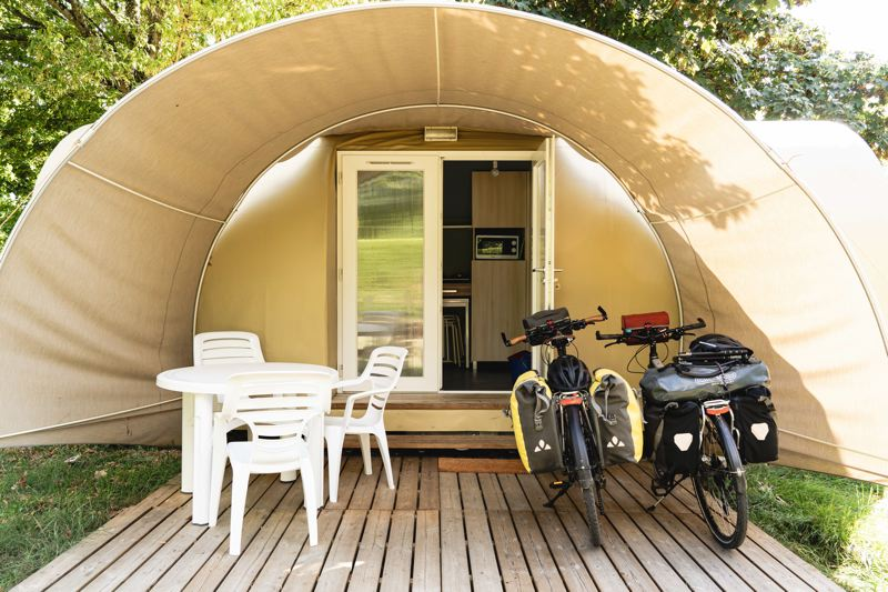 Camping la Chanoie - Pontailler-sur-Saône