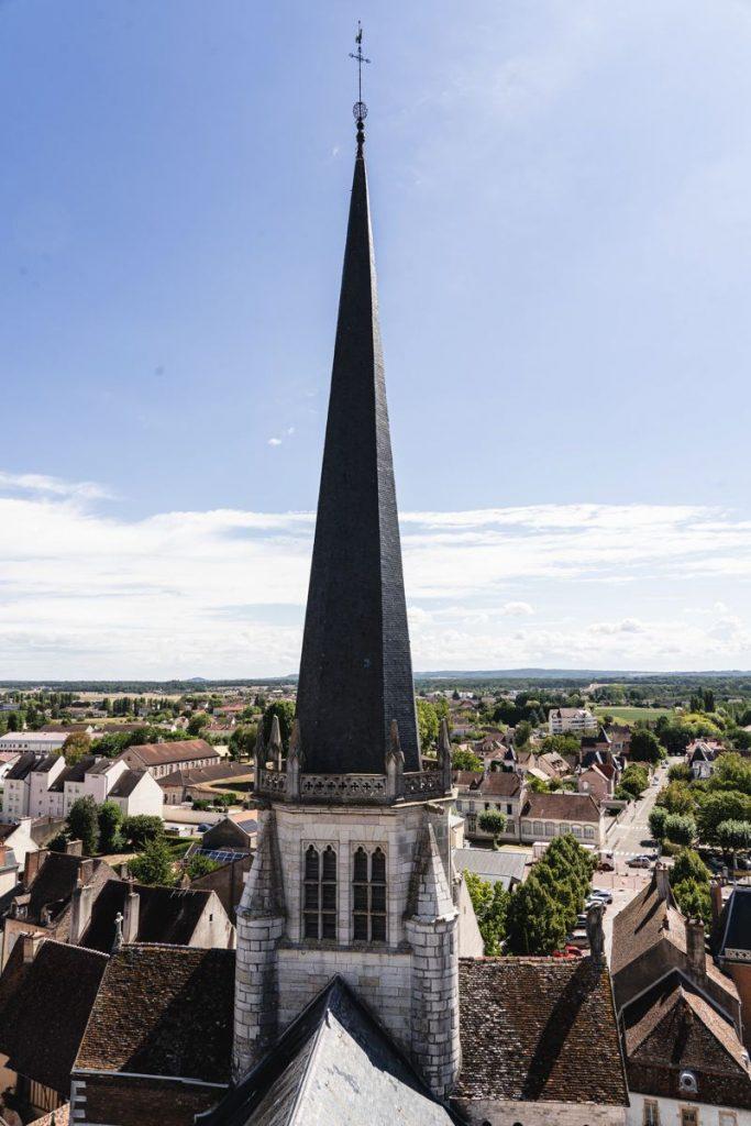 Auxonne clocher Tors - Voie Bleue