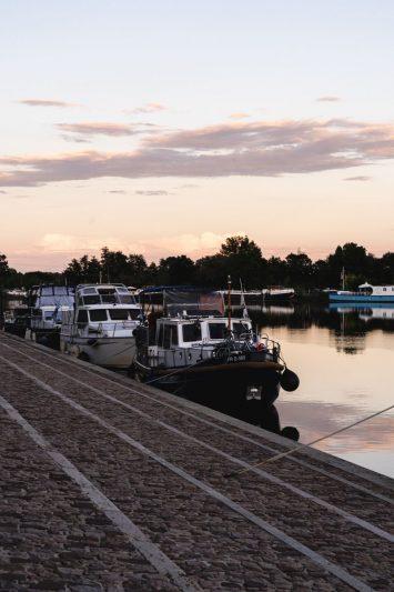 coucher de soleil - Saint-Jean-de-Losne