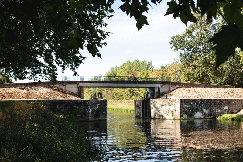 Traversée pont - Voie Bleue