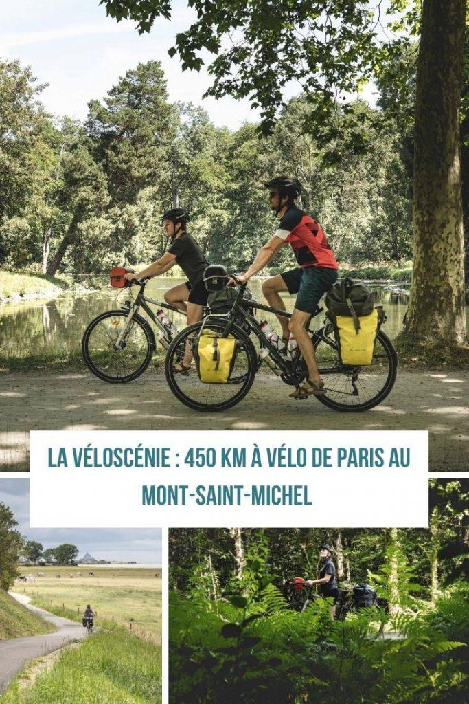 Découvrir la Véloscénie - de Paris au Mont-Saint-Michel à vélo