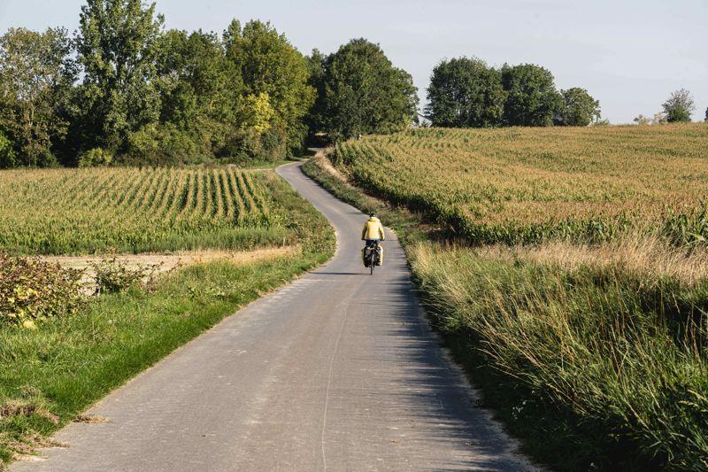 La V30 entre Ham et Offoy dans la campagnes