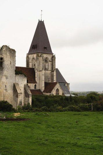 Le château de Picquigny sur la V 30