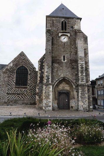 La ville medievale de St. Valery sur Somme, la V30