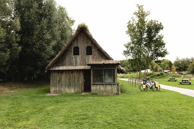 Le parc Samara sur la véloroute de la vallée de Somme