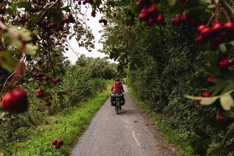 Voyage à vélo sur la véloroute de la vallée de la Somme