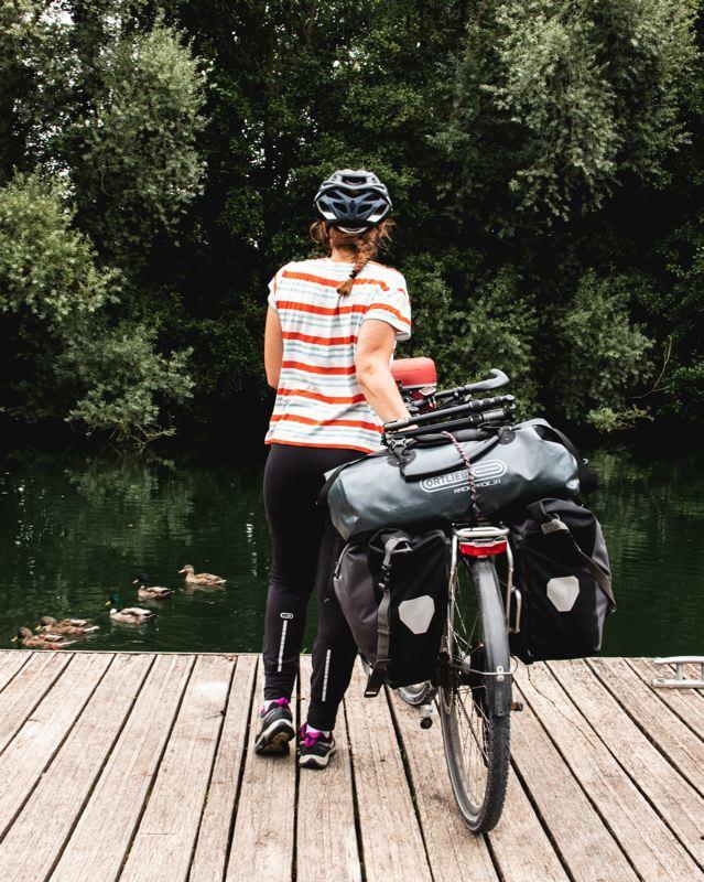 Voyage à vélo dans la vallée de la Somme