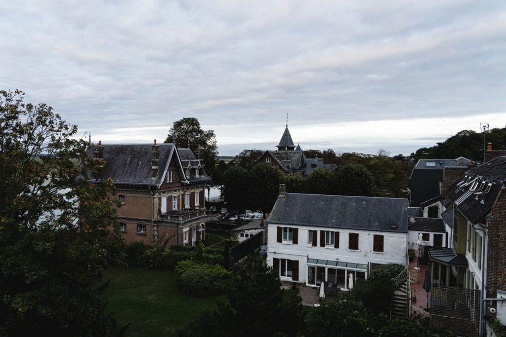Saint-Valéry-sur-somme vue baie de somme
