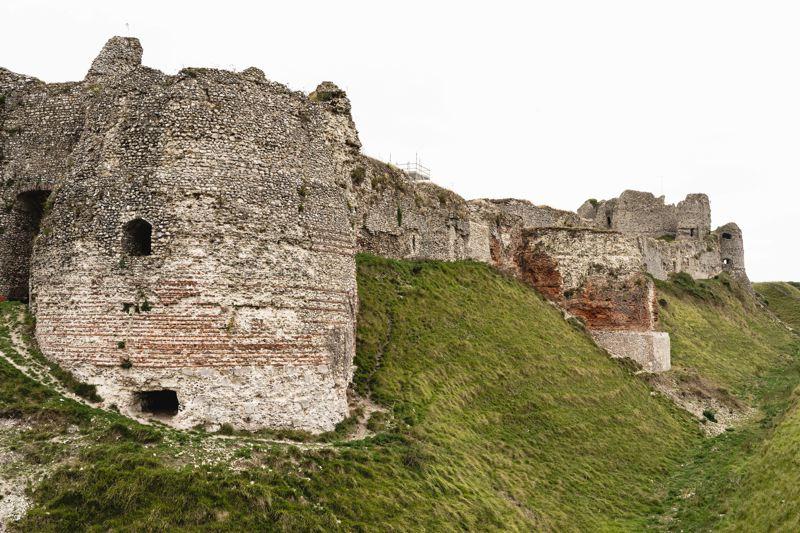 Ruines du château d'Arques-la-Bataille, Avenue Verte Londres-Paris