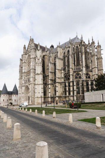 La cathédrale de Beauvais - Avenue Verte Londres Paris