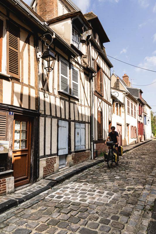 Ruelles pavées - Beauvais - Avenue Verte Londres Paris