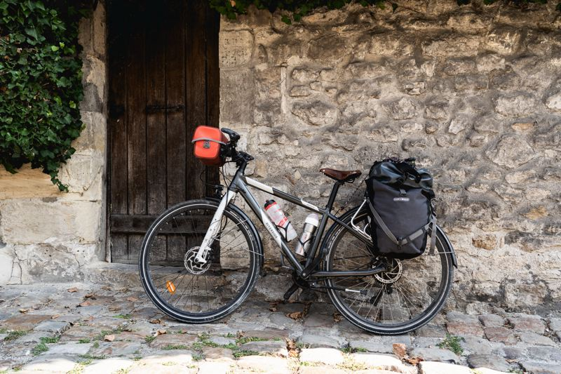 Vélo à Senlis - Avenue verte Londres Paris