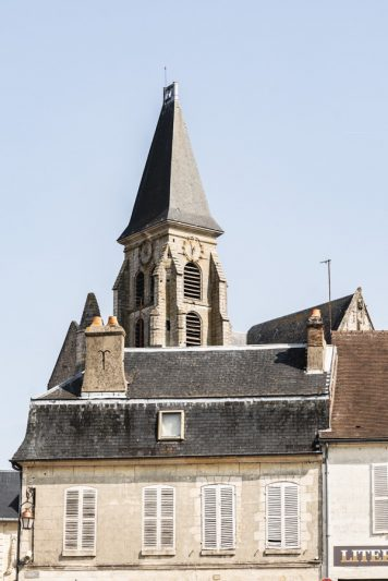 Clermont - Eglise, centre