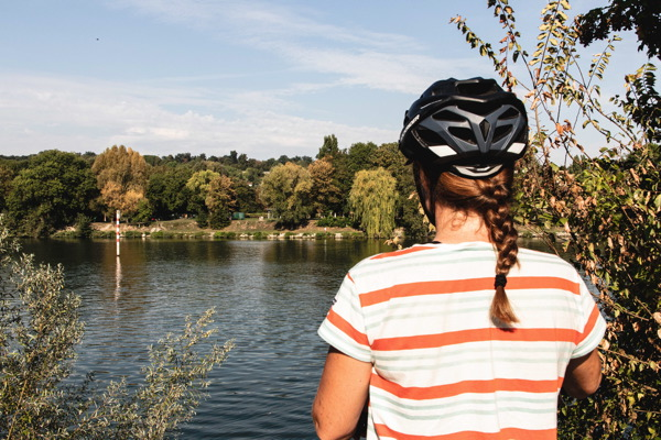 Seine à vélo - Avenue Verte