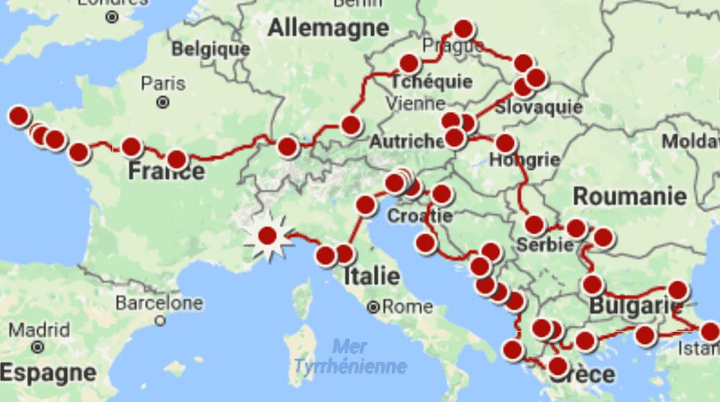 Tour d'Europe à vélo à la rencontre des entrepreneurs