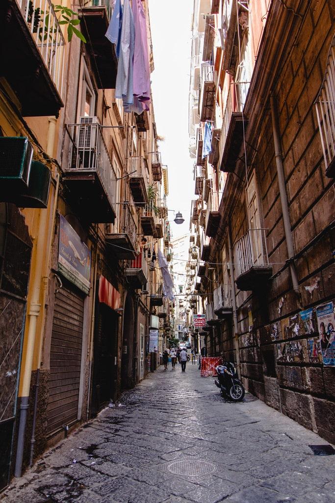 Ruelles de Naples - Ambiance