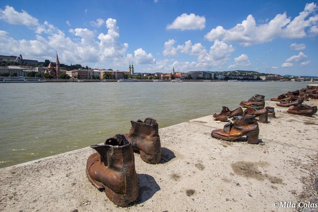 Les chaussures au bord du Danube - Budapest