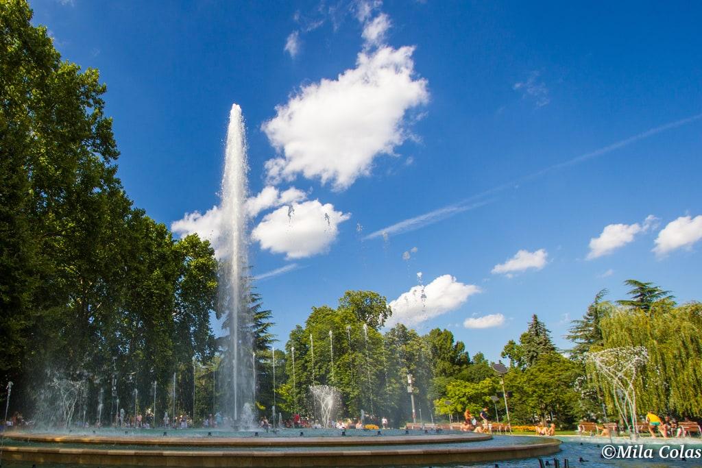 Fontaine de l'île Margitsziget - Budapest
