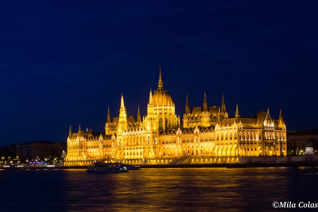 Le Parlement de nuit - Budapest