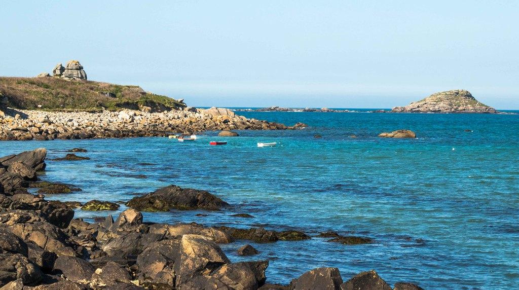 île Carn - Portsall - lieux Finistère