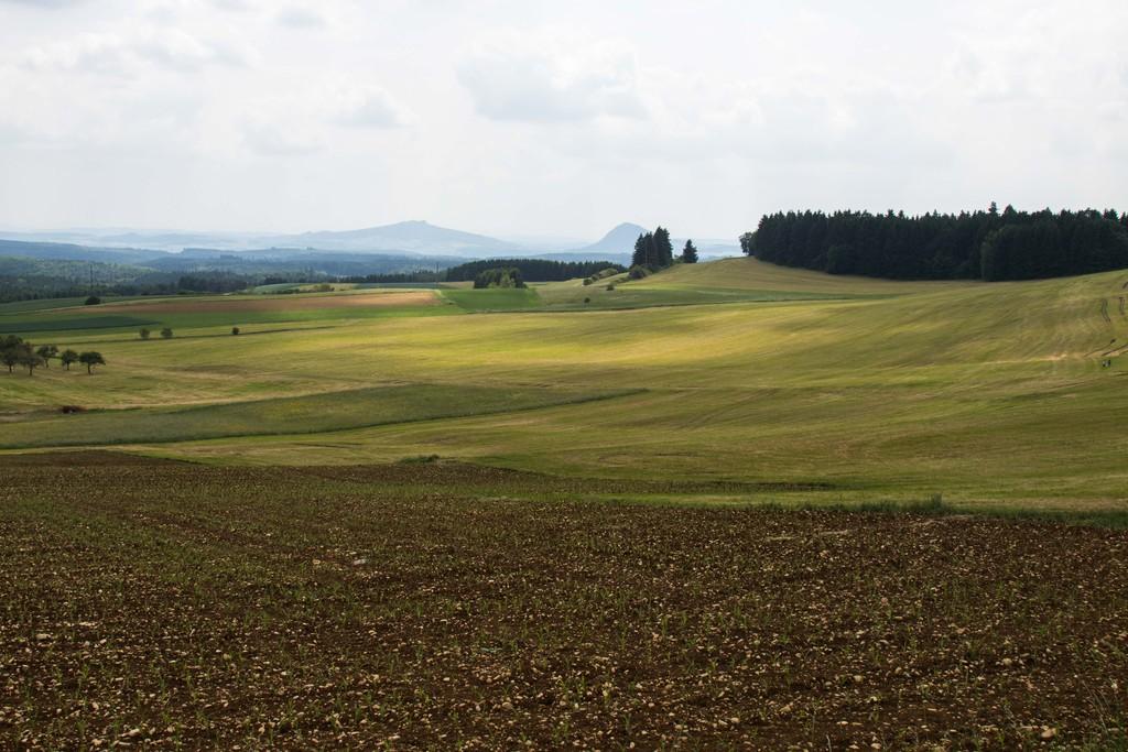Les paysages de l'EuroVelo 6 en Allemagne